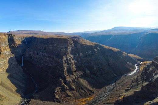 Кандинский водопад, плато Путорана